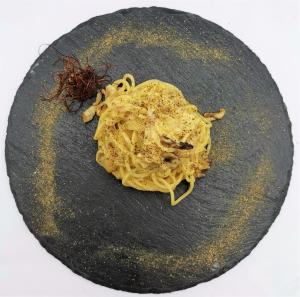Spaghetti alla carbonara 8.50€