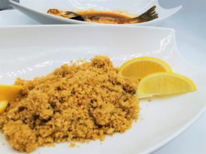 Cuscus con zuppa di pesce 12€