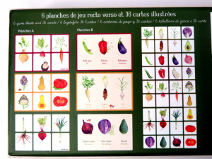 Memori La verdura di Moulin Roty