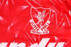 1989-91 Liverpool Maglia Home L Top
