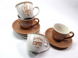 Tazze caffè Nbc confezione 4 pezzi
