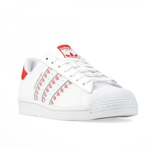 Adidas Superstar Bianco Rosso