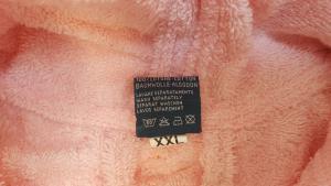 GABEL. Accappatoio Unisex con cappuccio. VIAREGGIO 614, Spugna 380 gr. Idrofilo.