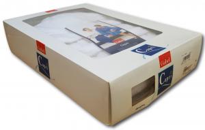 GABEL. Accappatoio cappuccio Unisex CAPRI, Spugna Jacquard 380 gr. MADE IN ITALY