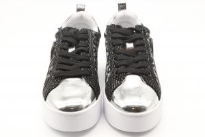 Liu Jo Silvia 32 Sneakers Silver Leopard