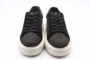 Liu Jo Kylie 1 Sneaker Glitter Black