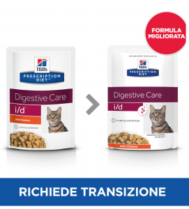 Hill's - Prescription Diet Feline - i/d - 85g x 12 buste
