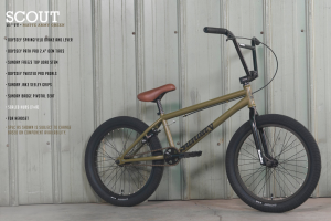 Sunday Scout XL 2022 Bici Bmx Completa | Green