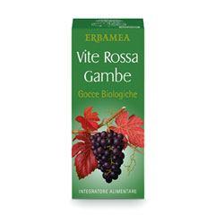 VITE ROSSA GAMBE GOCCE BIO 100