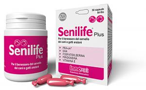 SENILIFE PLUS CANE GATTO (30 cpr) – Contro l'invecchiamento cerebrale