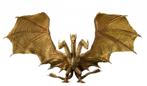 *PREORDER* Godzilla: King of the Monsters S.H. MonsterArts: KING GHIRODAN (Special Color Ver.) by Bandai Tamashii