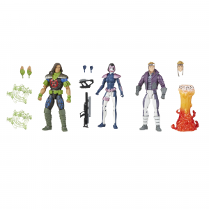 *PREORDER* Marvel Legends X-Force: DOMINO, RICTOR, CANNONBALL by Hasbro