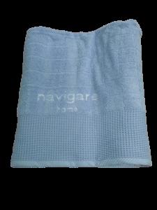 Completo Bagno 6 pezzi. NAVIGARE, SAIL. Accappatoio + Asciugamano + Telo bagno.