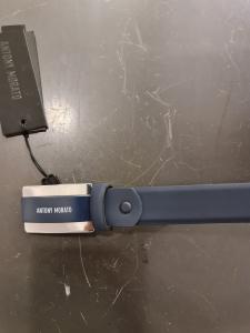 Cintura blu gommata