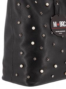 M BRC Borsa Shopping Pelle Nera