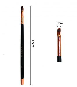 Pennello N.1 Professionale Con Calamita per laminazione e colorazione sopracciglia con hennè e tinte, angolato, sottile. MAXYMOVA