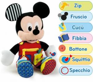 Clementoni peluche Baby Mickey prime abilità