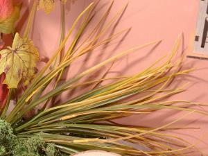 Mazzo di erba autunnale artificiale