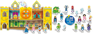 Liscianigiochi-Carotina Il Castello Magico Parlante, Multicolore