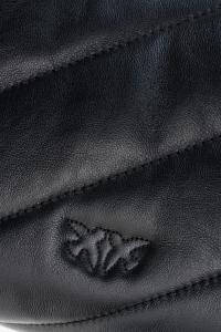 Tracolla Love Mini Puff Maxy Quilt 5CL nera Pinko