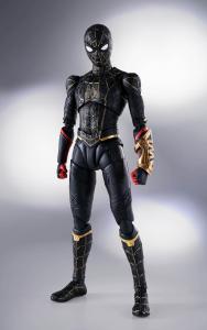 *PREORDER* Spider-Man: No Way Home - S.H. Figuarts: SPIDER-MAN BLACK & GOLD SUIT (Special Set) by Bandai Tamashii