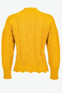 Maglione Chianti a maxi trecce Pinko