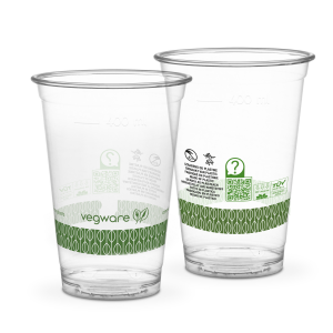 Bicchieri PLA trasparente Premium per Smoothies - 500ml