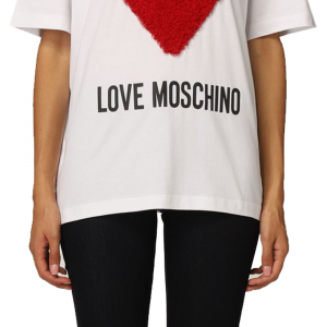 T-shirt donna LOVE MOSCHINO W4F87 42 M3517 4003 -A.1