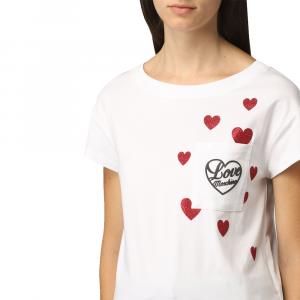 T-shirt donna LOVE MOSCHINO W4F30 2O E2264 A00 -A.1
