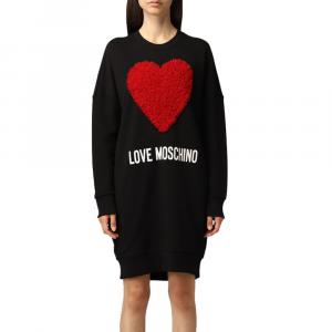 Abito felpa corto LOVE MOSCHINO W5A48 6 M4055 4005 -A.1