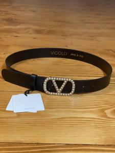 Cintura  Vicolo con fibbia di perle