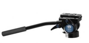 Treppiede Alluminio T-004SK + Testa Fluida Video VA-5