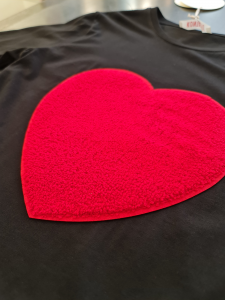 T shirt cuore