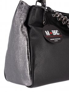M BRC  Borsa a Mano Nera/acciaio