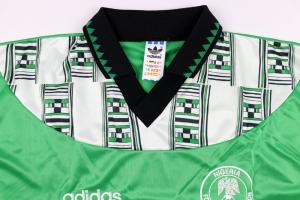 1994-95 Nigeria Maglia Home XL *Nuova