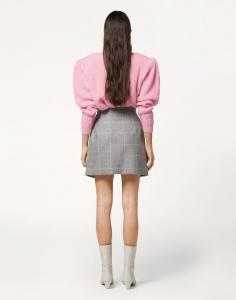 Minigonna con  effetto petalo spacco frontale di Maria Vittoria Paolillo
