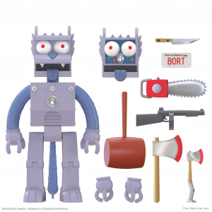 *PREORDER* The Simpson Ultimates:  ROBOT SCRATCHY by Super 7