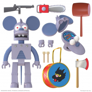 *PREORDER* The Simpson Ultimates:  ROBOT ITCHY by Super 7