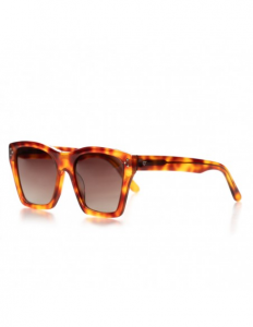 Women's square polarized sunglasses