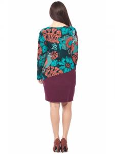 Plus size winter dress