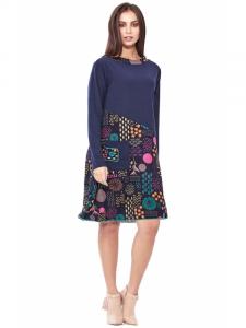 Robe mi-longue taille confortable | Collection automne-hiver en ligne