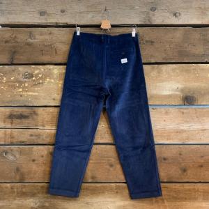Pantalone Bakery Supplies Dakota Corduroy in Velluto Blu Navy