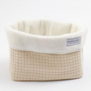Beauty case Cestino porta oggetti Store Bag Soft Stone Cream
