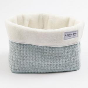 Beauty case Cestino porta oggetti Store Bag Soft Stone Ice Blue