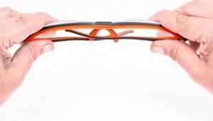 Occhiali da lavoro antinfortunistici con lente grigia Flexor Plus Outdoor 9023625 Orma by Infield