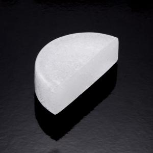 Blocco mini mattone di forma mezza luna in vetro seta