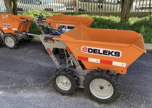 DELEKS Motocarriola 4X4 con motore a scoppio DUCAR