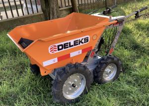 DELEKS Motocarriola 4X4 con motore a scoppio B&S
