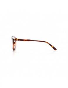 Occhiali in acetato e lenti policarbonato trasparenti