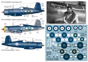 RNZAF F4U-1D & FG-1D Corsairs
